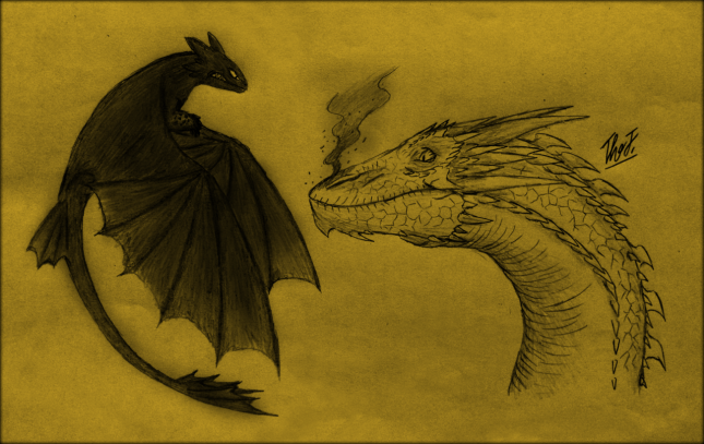 crazy_crossover___smaug_vs_night_fury_by_thejuras-d7gtu33