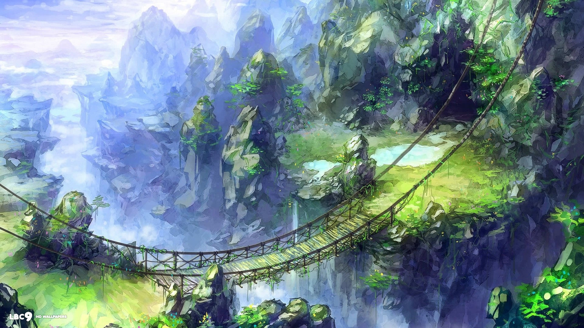 Amazon networking services part two how to train your java - Fantasy wallpaper bridge ...